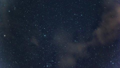 Звездное небо, ночь, блеск