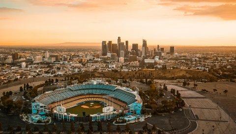 Центр города, Лос-Анджелес, США