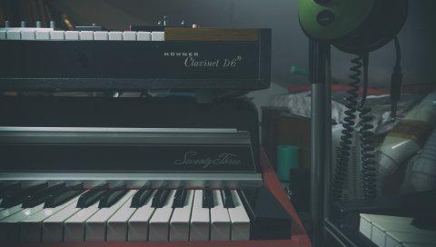 Синтезатор, фортепиано, музыкальный инструмент