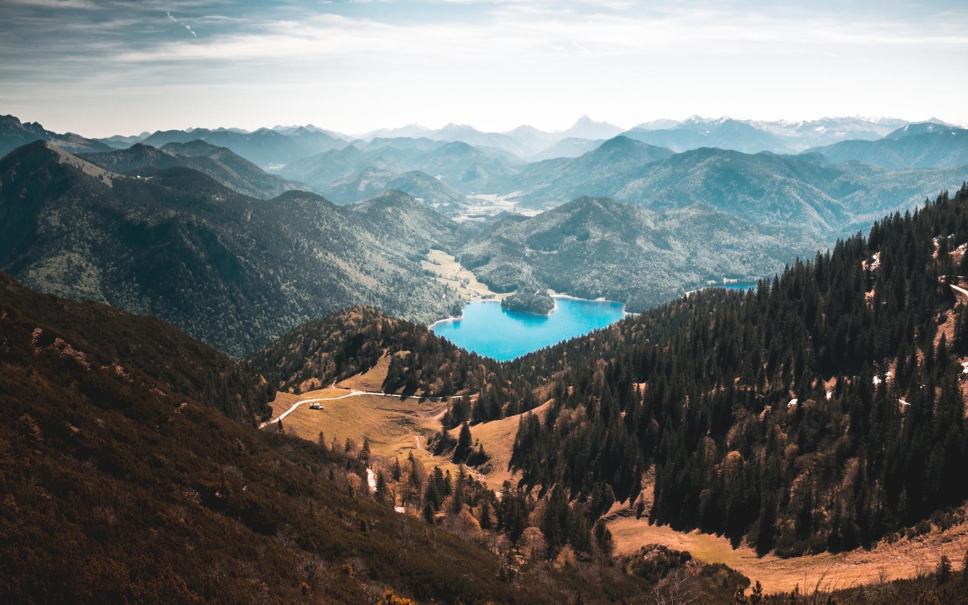 Картинки Walchensee, горы, озеро, кохель, германия фото и обои на рабочий стол