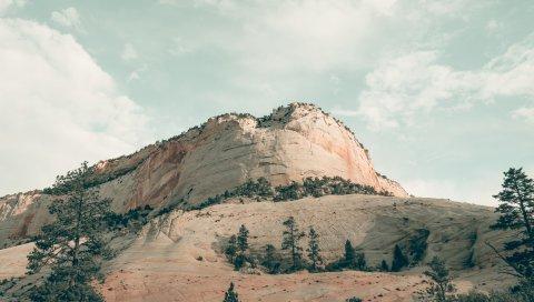 Горы, национальный парк Сион, США