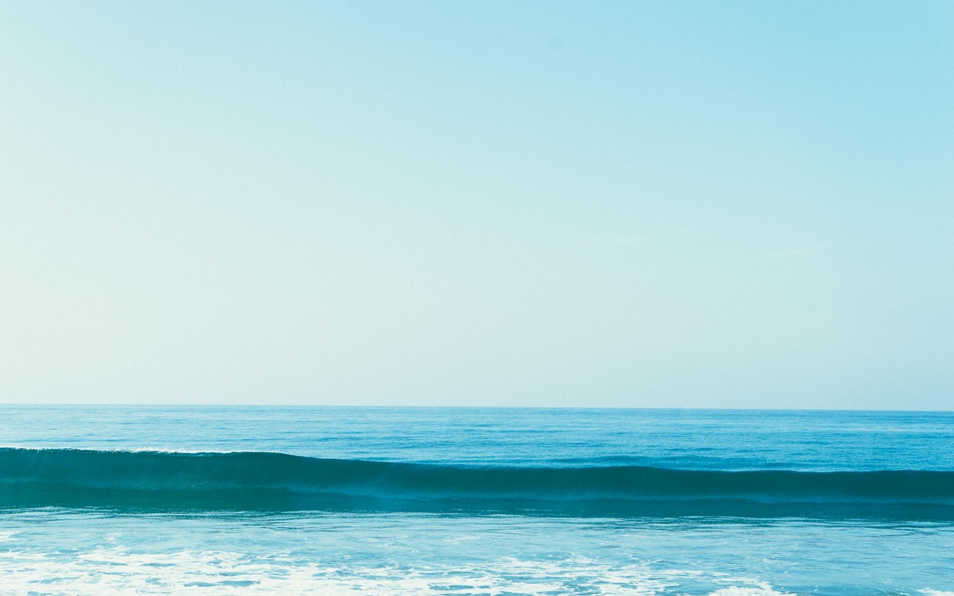 природа море горизонт небо берег без смс