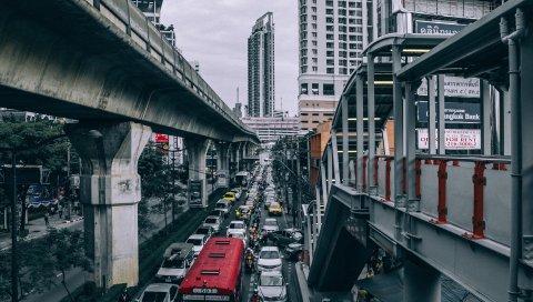 Дороги, мосты, транспортные средства, здания