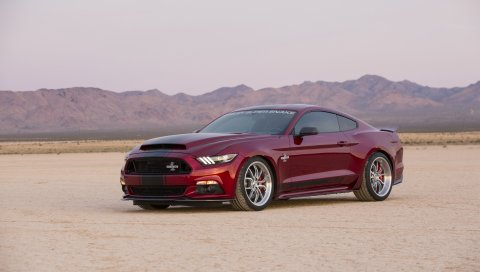 Ford, mustang, shelby, вид сбоку