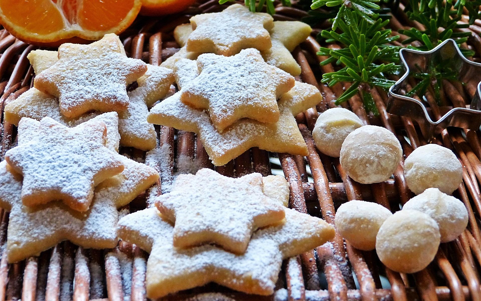 Картинки Печенье, орехи, макадамия фото и обои на рабочий стол