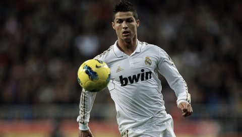 Cristiano ronaldo, настоящий мадрид, футболист, мяч, футбол