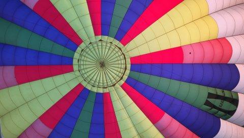 Воздушный шар, красочный, полет