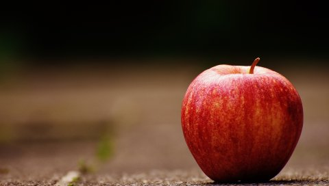Яблоко, фрукты, спелые