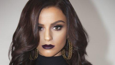 Cher lloyd, певец, брюнетка, макияж