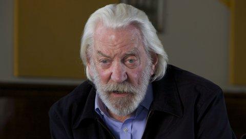 Donald sutherland, актер, седой