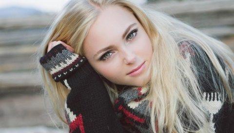Anna sophia robb, актриса, блондинка, свитер