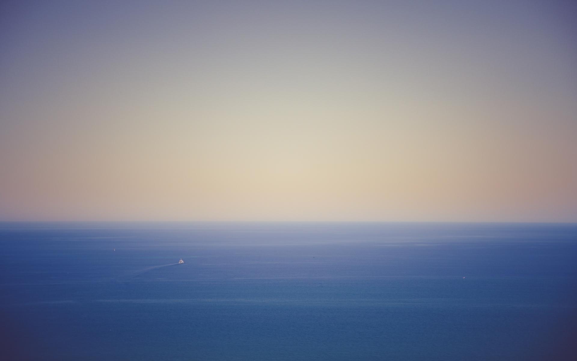 Картинки Океан, горизонт, небо фото и обои на рабочий стол