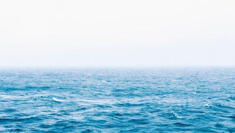 Море, океан, волны, поверхность