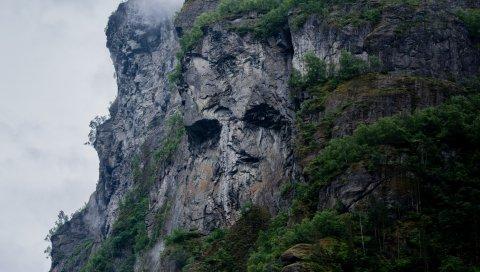 Горы, скалы, трава