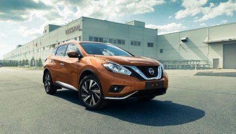 Nissan, murano, вид сбоку