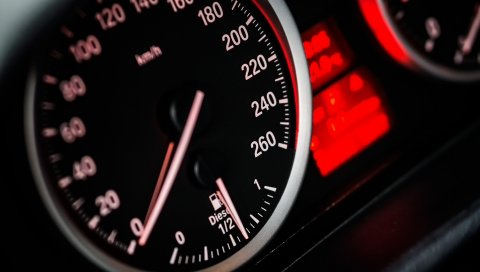 Спидометр, скорость, автомобиль