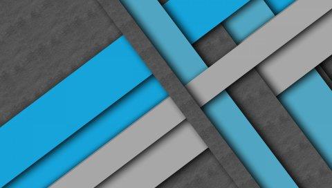 Линия, форма, текстура, синий, серый