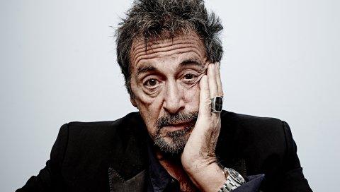 Аль-пасино, актер, лицо, часы