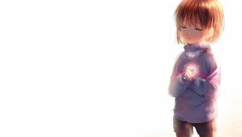 Ласковый, флис, свитер, свет