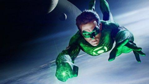 Зеленый фонарь, DC комиксы, полет