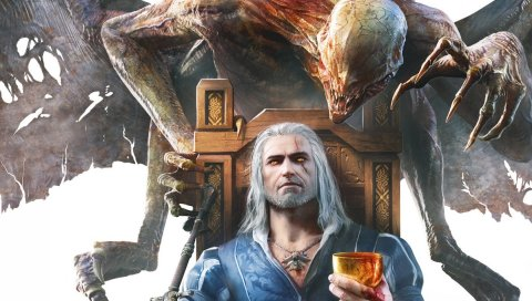Ведьмак 3, дикая охота, кровь и вино, геральт