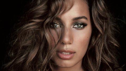 Leona lewis, актриса, волосы, глаза