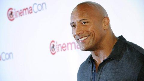 Dwayne johnson, актер, улыбка, спортсмен