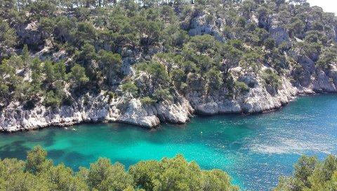 Марсель, Франция, Средиземное море