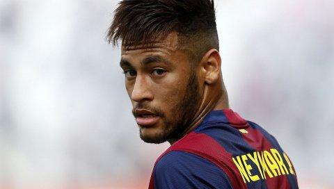 Neymar, барселона, футболист, лицо