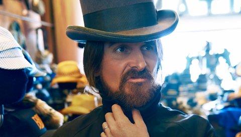 Христианский тюк, актер, шляпа, борода