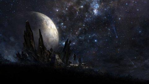 Звезды, люди, планета, искусство