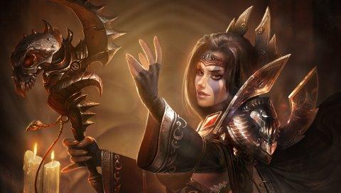 Jandice barov, мир Warcraft, персонаж, искусство