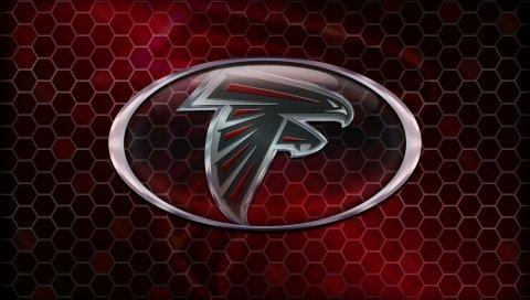 Атланта сокол, американский футбол, логотип
