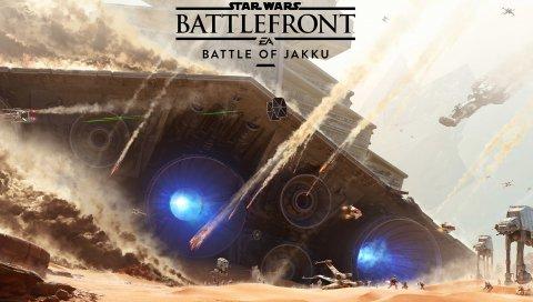 Звездные войны, битва, битва при джакку