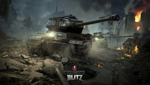 Мир танков, блиц, wargaming net, tank, is-2