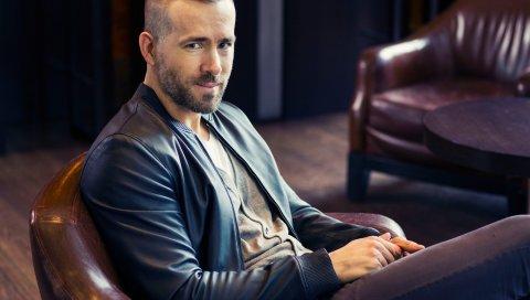 Ryan reynolds, мужчина, актер, стиль