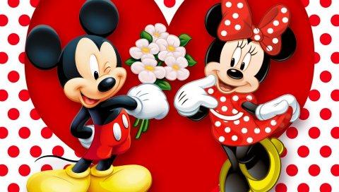 Мышь minnie, мышь mickey, мышь