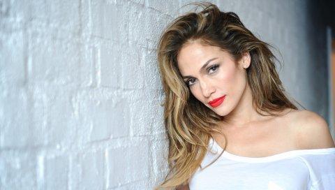 Дженнифер Лопес, знаменитость, макияж, фотосессия