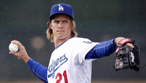 Зак Грейнк, бейсболист, Лос -Анджелес Доджерс