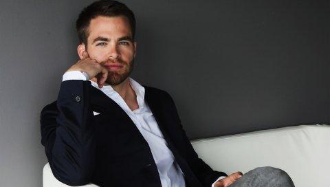 Chris pine, актер, стиль, фотосессия