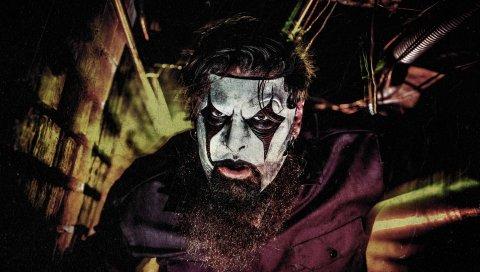 Джеймс Рут, удавка, гитарист, маски, грим