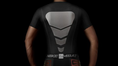 Nike pro, галактика, спорт, футболка, шорты
