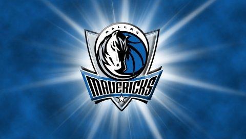 Dallas mavericks, баскетбол, логотип