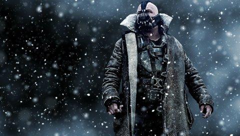 Темный рыцарь поднимается, байн, искусство, маска