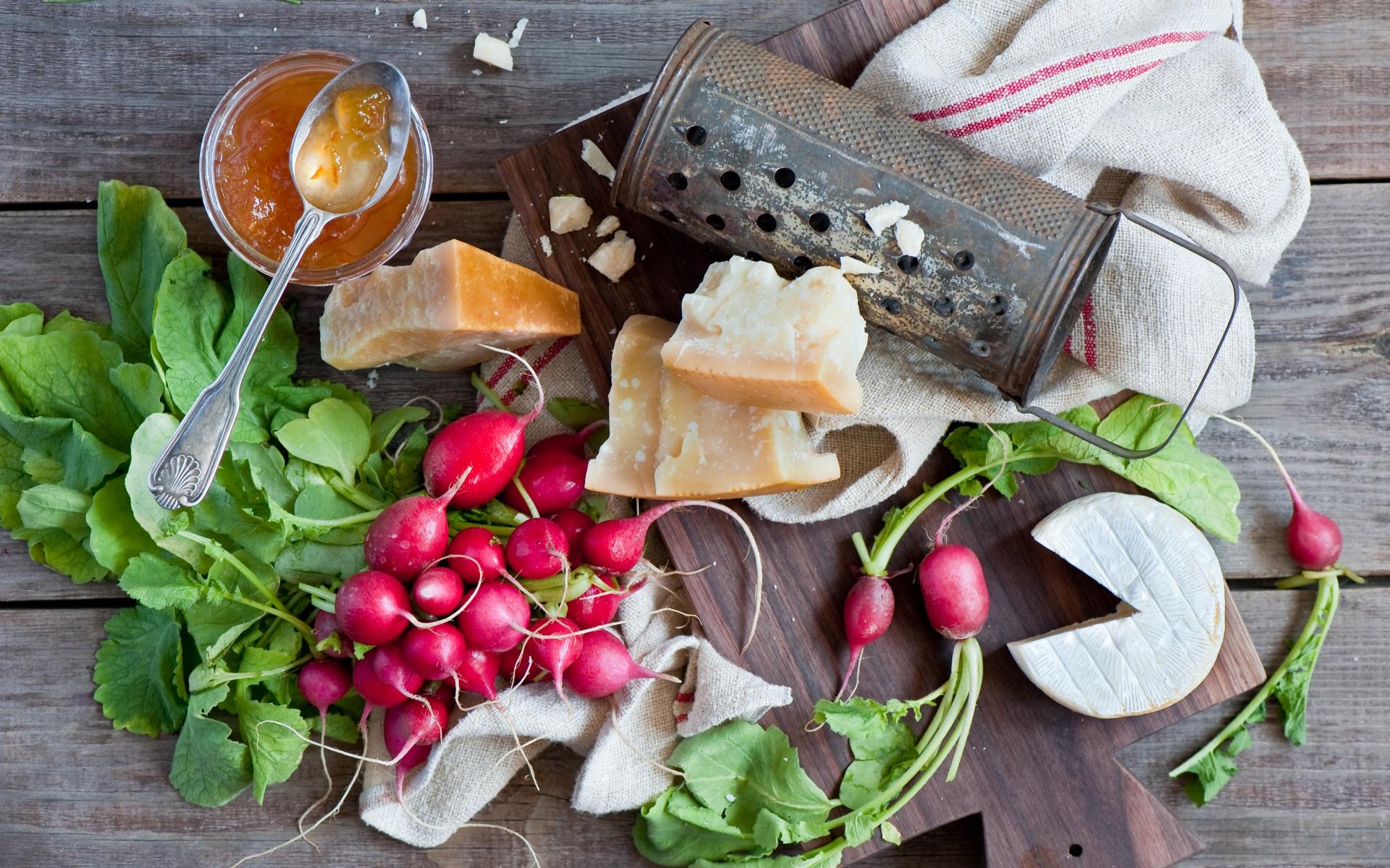Картинки сыр, редька, мед, овощи, варенье, натюрморт фото и обои на рабочий стол