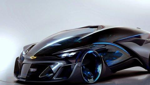 Chevrolet, РБН, концепция, 2015, вид сбоку , суперкар