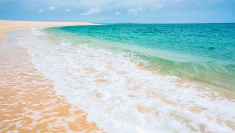 Море, пляж, песок