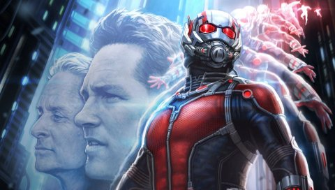 Ant-man, 2015, paul rudd, michael douglas
