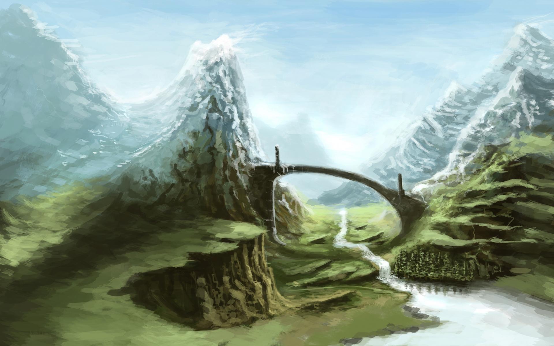Картинки Skyrim, природа, искусство фото и обои на рабочий стол