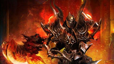 Битва бессмертных, воин, искусство, огонь, оружие, доспехи